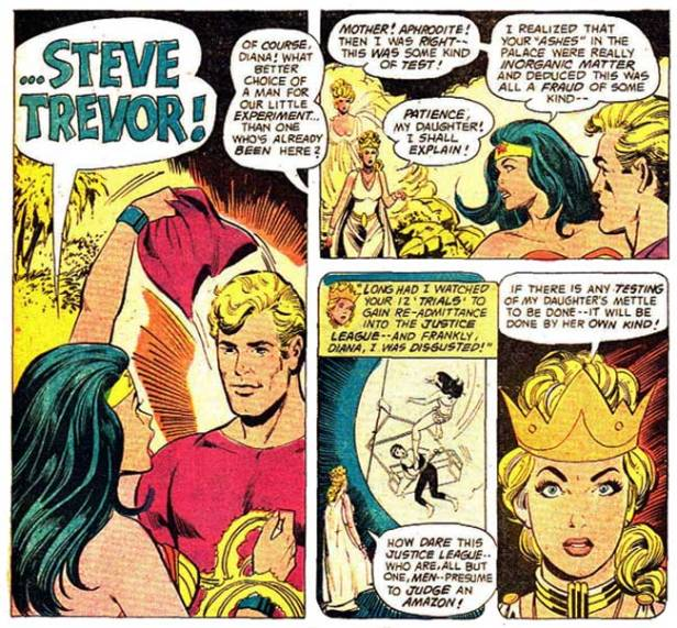 wonder woman steve trevor return WW 223 p31