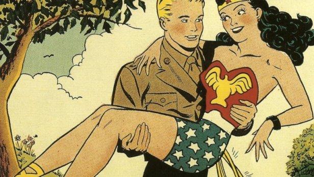 wonder_woman_steve_trevor 1940s