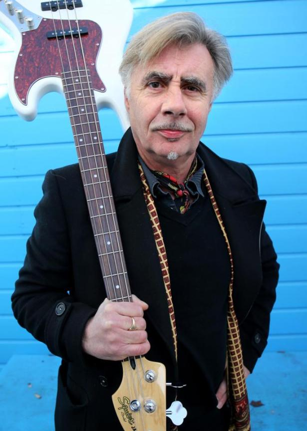 glen matlock with white bass