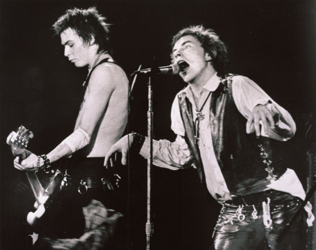 SEX PISTOLS ROCK HALL