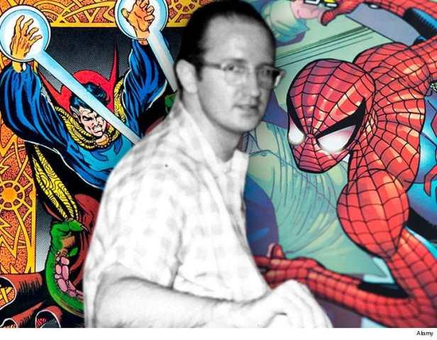 steve-ditko-spiderman-doctor-strange-fb-alamy-5