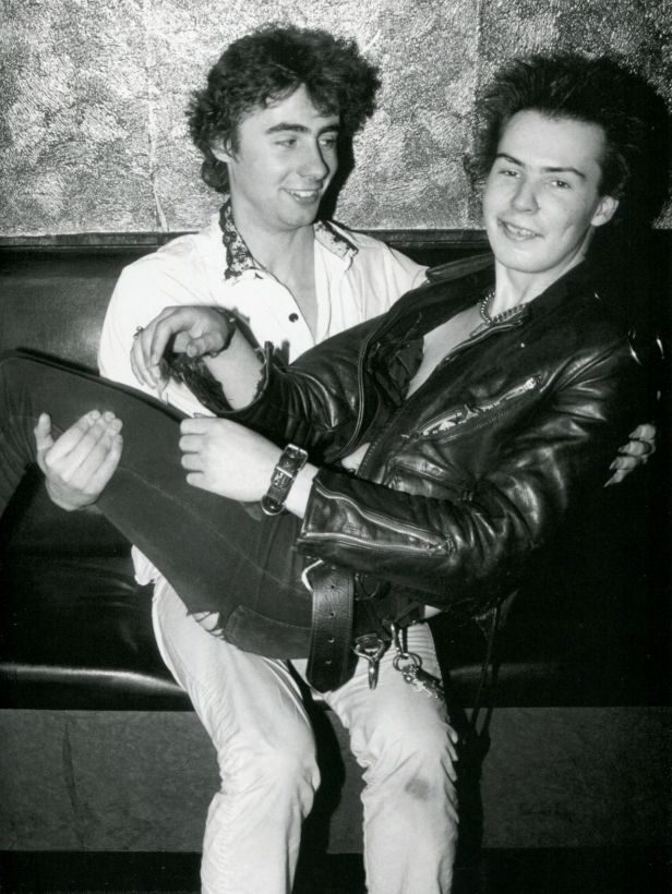 syd vicious and glen matlock 1978
