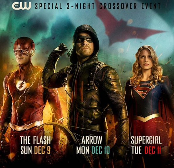 arrow flash supergirl - batwoman crossover