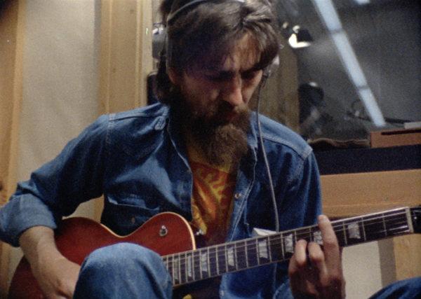 John Lennon Imagine george harrison on guitar OML2-600x427