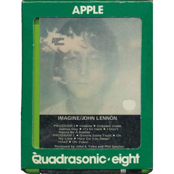 John Lennon Imagine quadrasonic tape