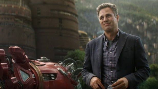 infinity war bruce banner and the gaunlet of hulkbuster