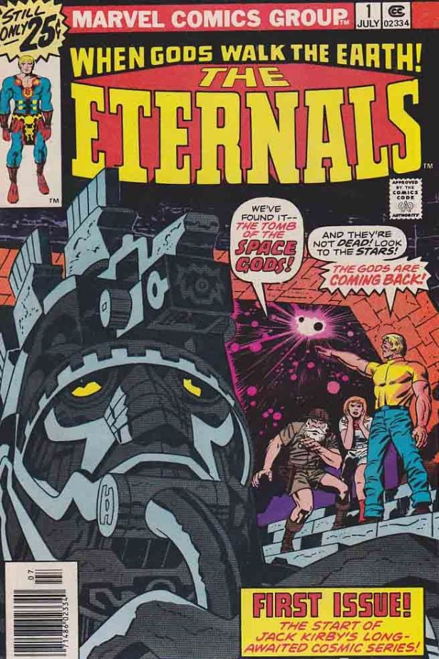 the eternals 01 1976 cover