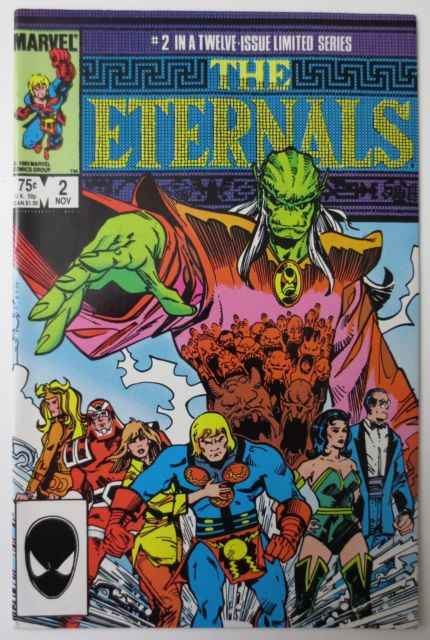 the eternals 02 mini series art by walt simonson