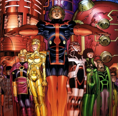 the eternals by john romita jr