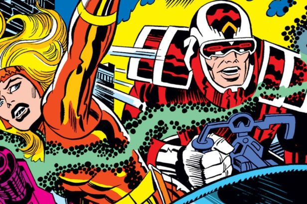 the eternals (detals) by jackkirby