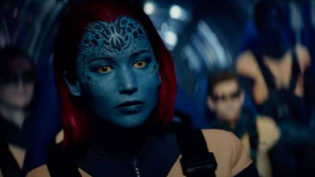 x-men dark phoenix trailer mystique on the jet
