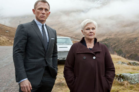 007 skyfall bond and m scottland
