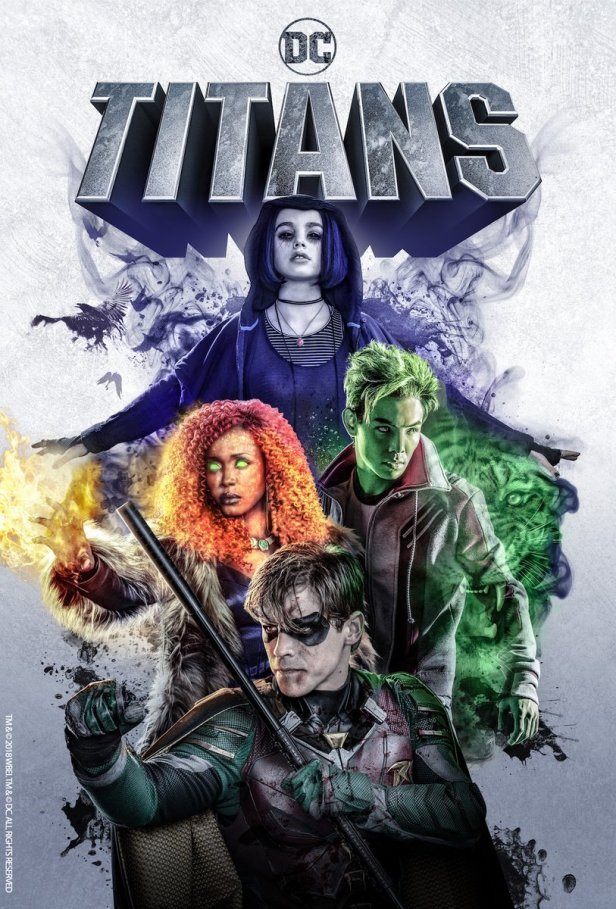 titans tv team poster
