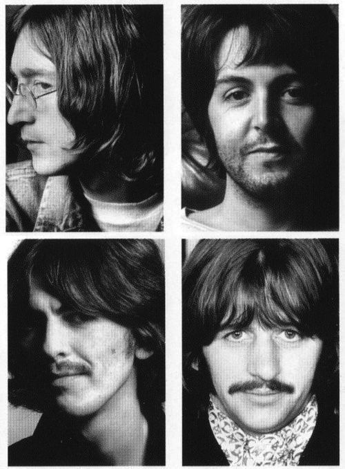 beatles white album portraits alternate versions