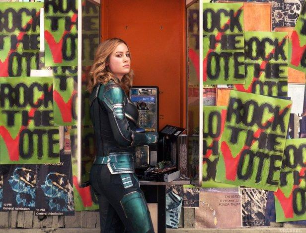 captain marvel rock the vote