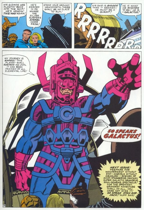 fantastic four 49 galactus first