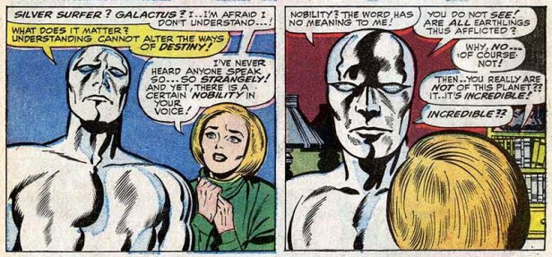 fantastic four 49 silver surfer and alicia
